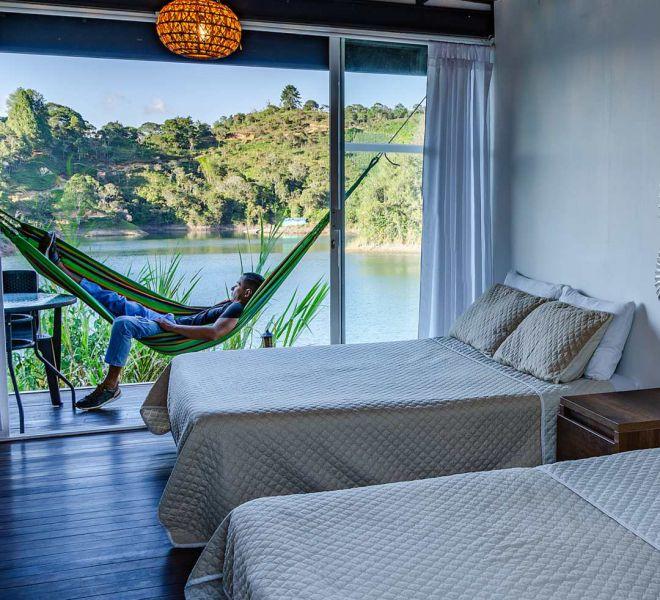 cabana chalet hotel guatape
