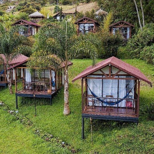 Hotel pietrasanta en Guatape